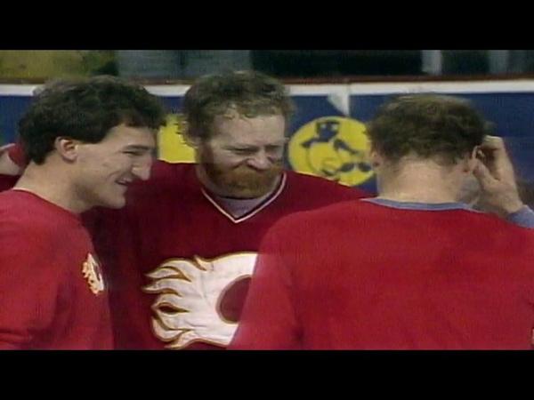 1989 финал Макдональд и Флэймз выигрывают Кубок Стэнли