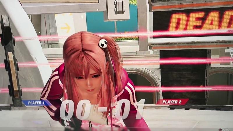 『デッド オア アライブ 6』TGSバージョン技演出&胸揺れなど確認動画【DOA612