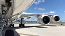 Boeing 747 8I pushback and start up in Honolulu