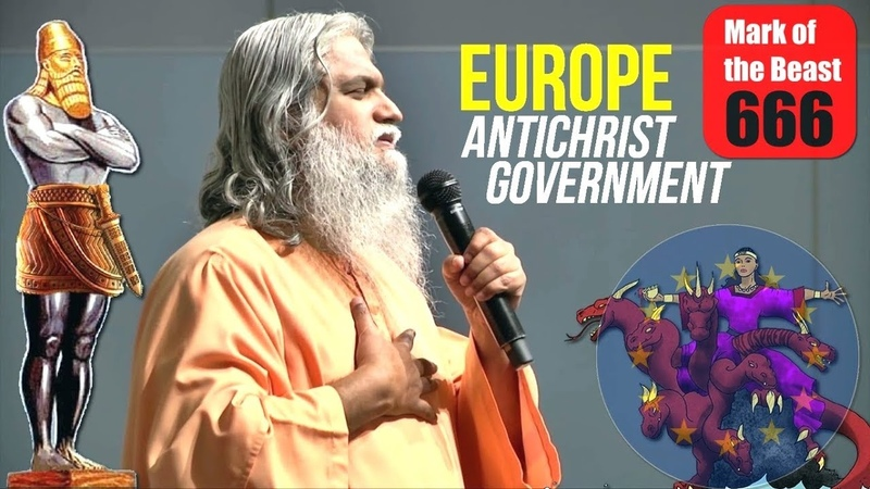 Europe Antichrist Government Plans Are Ready (Rev 17) | Sadhu Sundar Selvaraj, Stephen Green