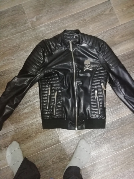 Кожаную куртку Philipp plein