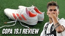Paulo Dybala adidas Copa 19.1 Boots - Test Review (2018)