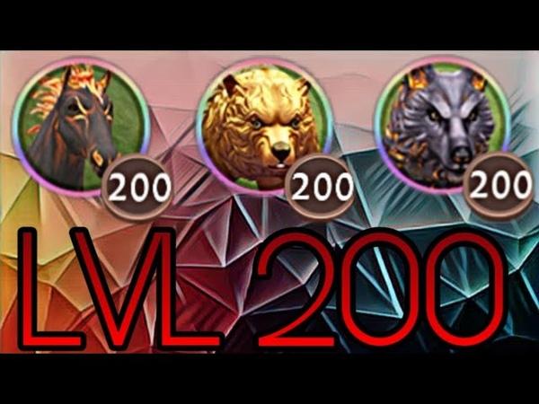 WildCraft - Reaching Bear Lvl 200 ~ Reaching Horse Lvl 200