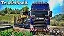 🔴✅ [ ETS 2-Truckers MP] - Рейс15 по Европе нашей компании на TrucksBook . [Logitech G27] !