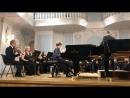 Моцарт. Концерт для 2-х Фортепиано с оркестром.  Московская консерватория, Рахманиновский зал.
