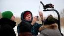 Съемки фильма Сотня в Брюховецком районе о подвиге Василия Гамалия
