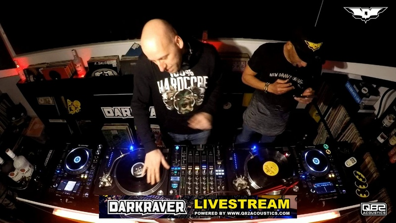 Darkraver VS Dj Vince in the Batcave 10 01 2019