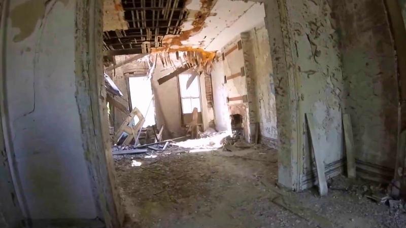 Brooklyn Navy Yard Abandoned Buildings Doug Maxwell