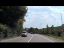 Дорога в Абхазию (стрёмный футаж на хендикам)