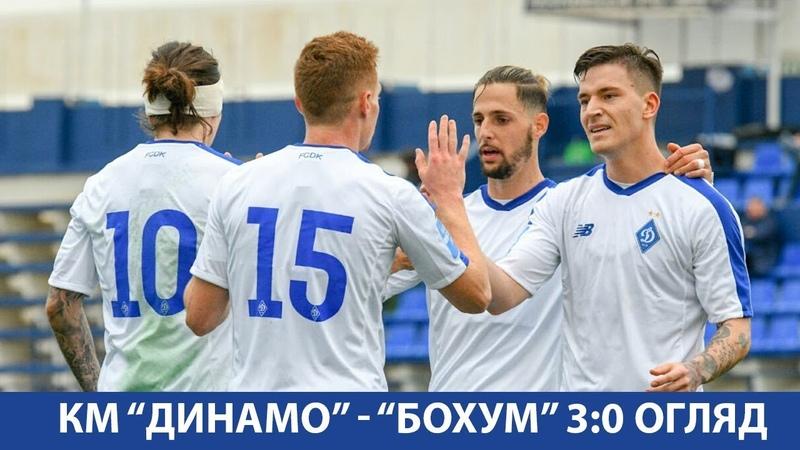 ТМ ДИНАМО Київ БОХУМ Німеччина 3 0 ОГЛЯД МАТЧУ