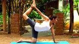 Eka Hasta Vyaghrasana - One Handed Tiger Pose Benefits Power Yoga for Core Strength