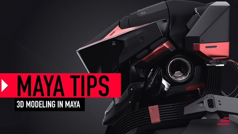 3D Modeling Tips for Maya Workflow