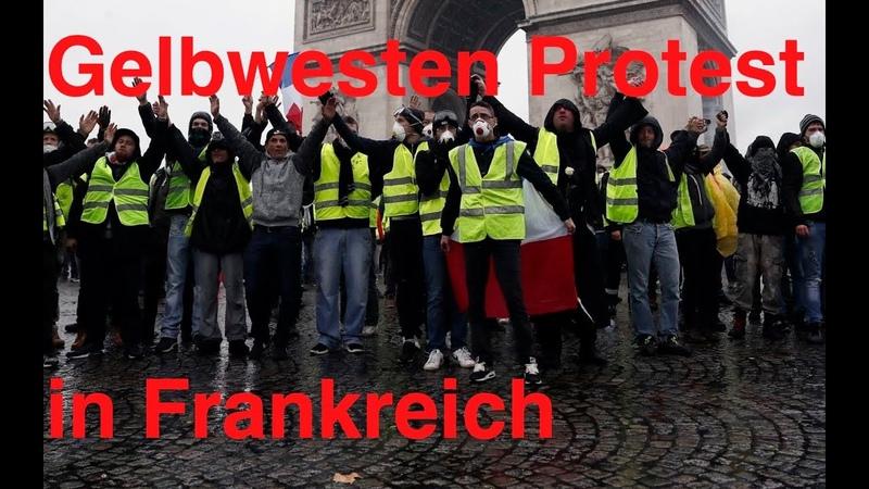 Gelbwesten Protest in Frankreich - Franchiseprojekt für den europäischen Maidan