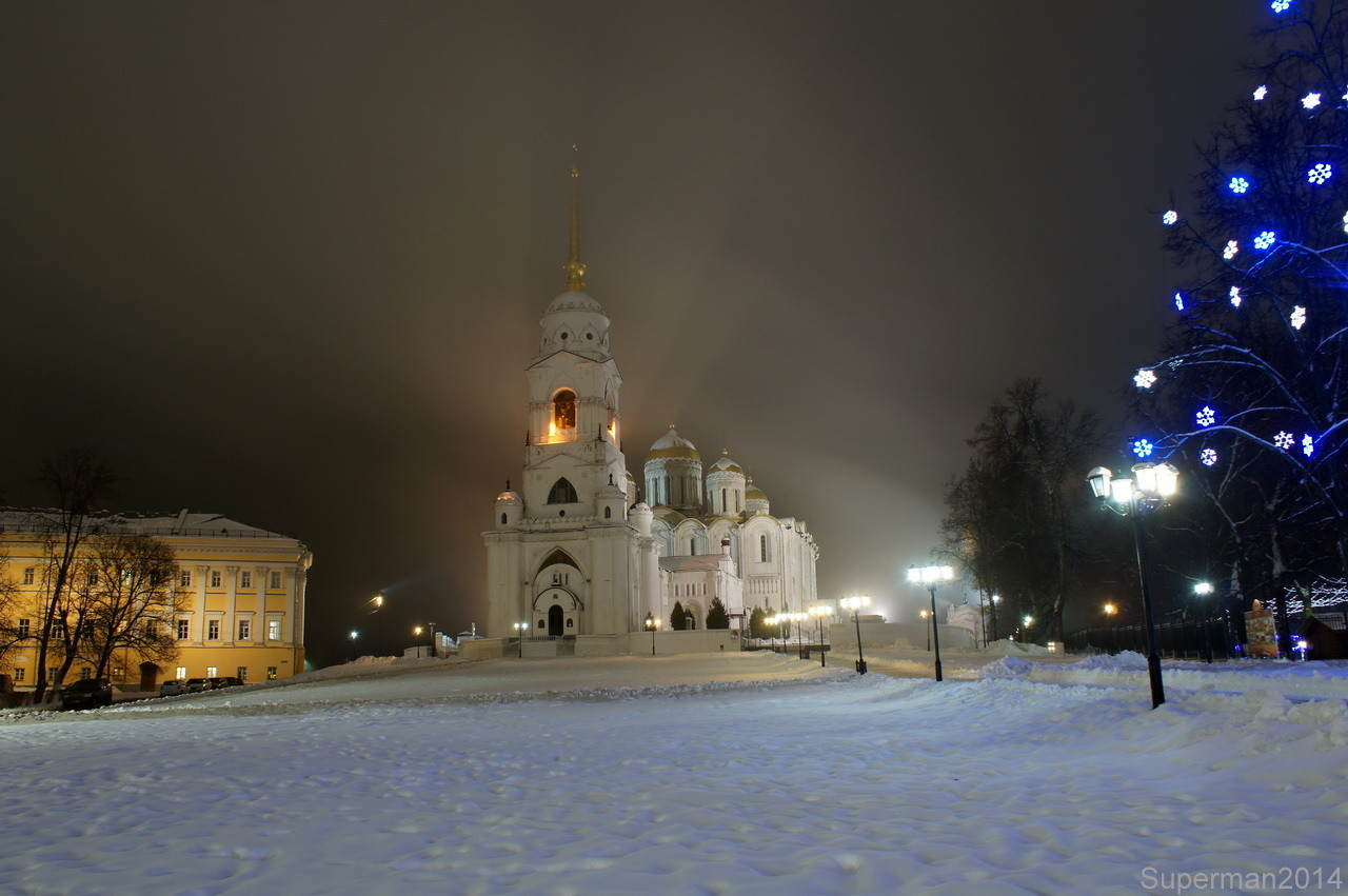 Новогодний Владимир новый год