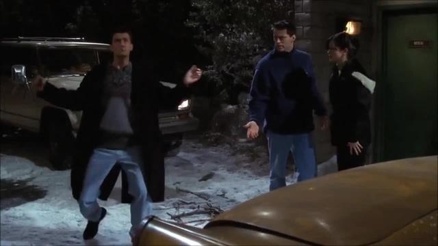 Chandler dancing