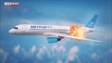 Падение самолёта A321 в Египте (клип)