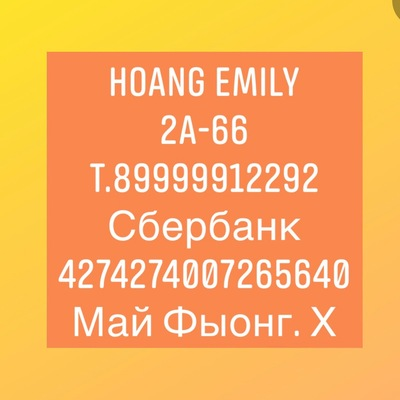 Hoang Emily