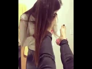 Footworship lesbian  [feet, legs, foot, toes, ножки девочек, footfetish, футфетиш, фетиш]