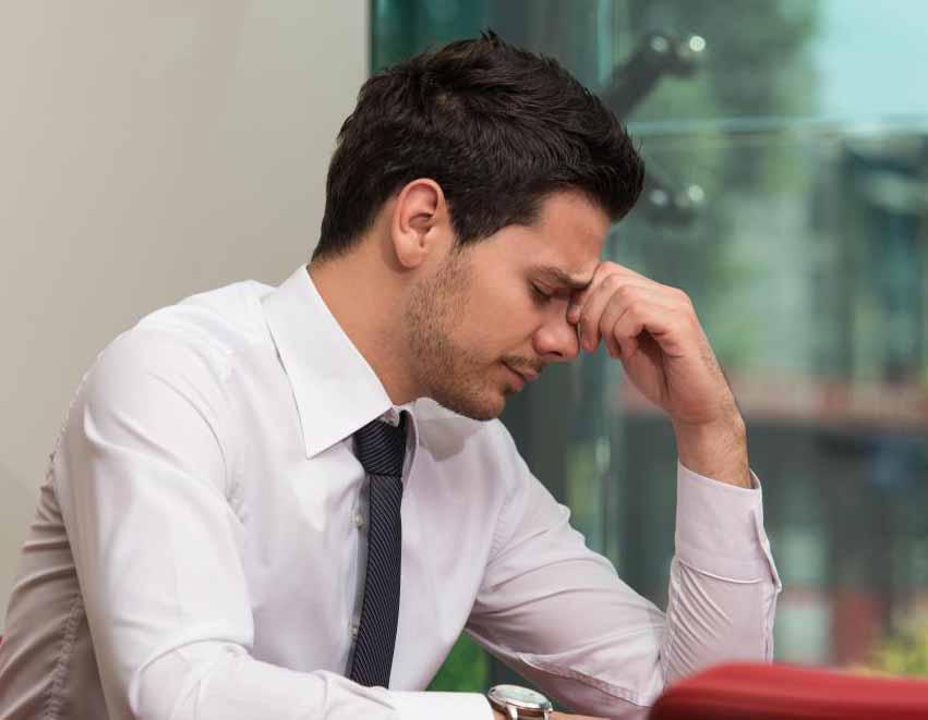 Стресс может привести к развитию антрального гастрита.
