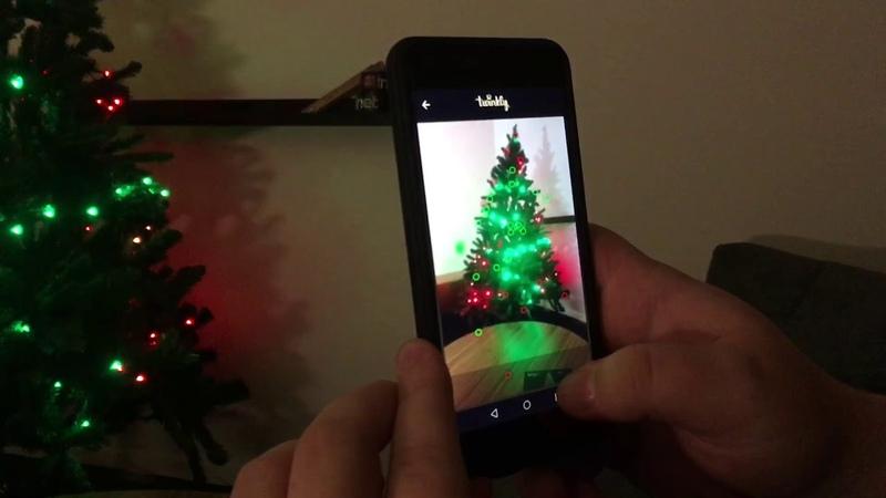 RGB till julgranen Vi kikar på Twinkly String