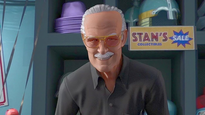 Stan Lee Cameo Scene - Spider-Man Into The Spider-verse (2018)