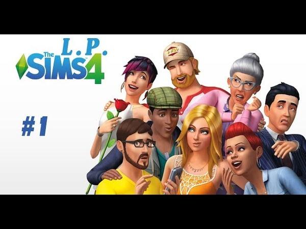 Sims4 L P 1 Oksis лохович Создаём персонажа