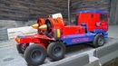 RC TWIN TURBINE RACE TRUCK! INCREDIBLE MAN RACE TRUCK! TWO JET IMPELLAR IN ACTION! AMAZING TRUCK