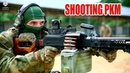 Russian Special Forces - Working with Kalashnikov PKM machine gun