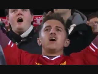 95,000 фанатов «ливерпуля» хором поют «youll never walk alone»