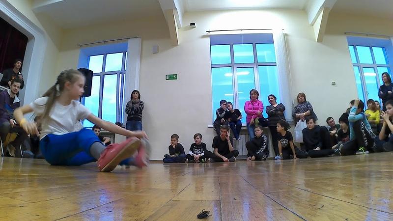 BREAK BATTLE WARRIORS - Маргарита, Сабина ( от 10 до 13 лет)