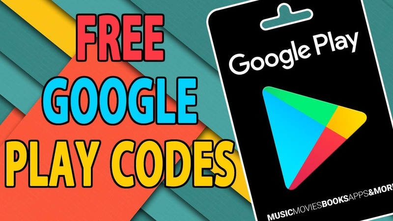 NEW Free Google Play Codes in Play Store - Google Play Gift Card!