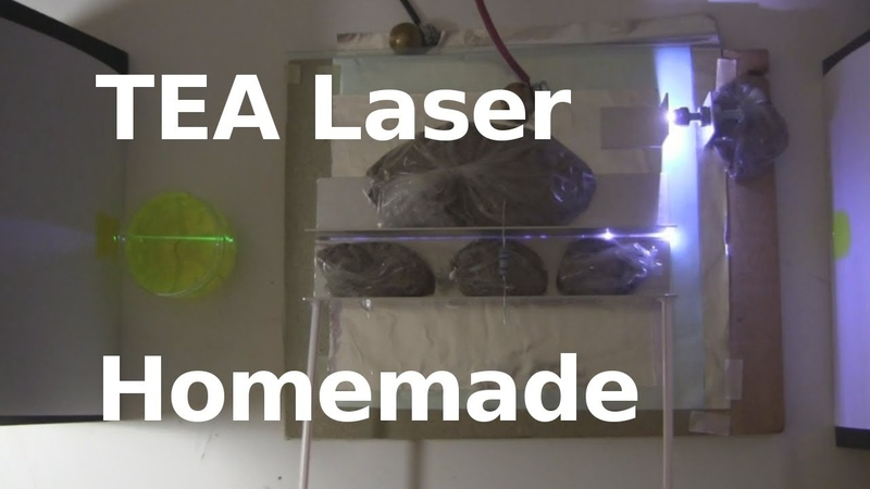 TEA Laser - Easy HomemadeDIY Laser