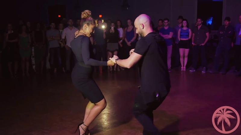 Танцуют Жорж Атака и Таня Ла Алемана. Белая Сирень...