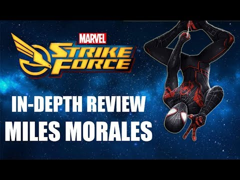 Miles Morales In-Depth Review - Marvel Strike Force