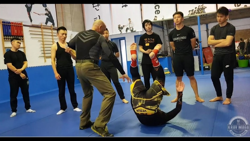 Aggressive Control Takedowns Seminar with Itay Gil
