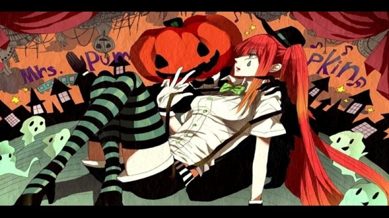 Hatsune Miku - Humorous Dream of Mrs. Pumpkin