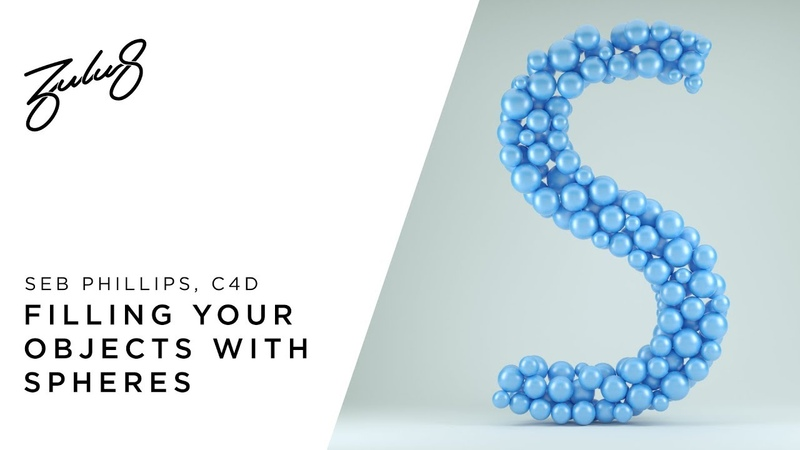 How To Fill Your Objects With Spheres In C4D Octane Render