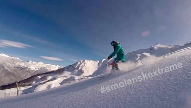 Masyanya skiing 2018