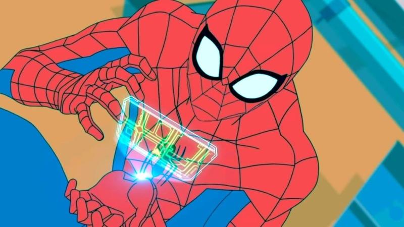 Мультфильм человек паук 2017 - 16 серия HD