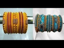 Latest Function Ware Silk Thread Bangles Sets Collection