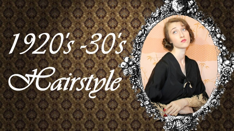 Easy 1920s1930s Hairstyle For Long Hair
