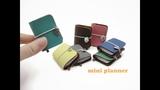 DIY Miniature Doll Mini Diary Planner Book - Easy!