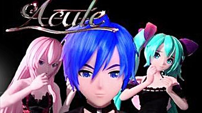 ACUTE - Miku, Kaito, Luka (Subtitles cc) Project DIVA Future Tone