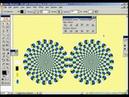 1. Оптическая обманка. Обман зрения. Уроки обучение Adobe llustrator