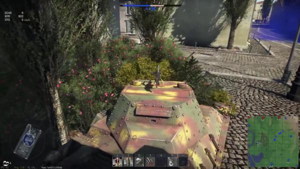War Thunder - P40 Leoncello