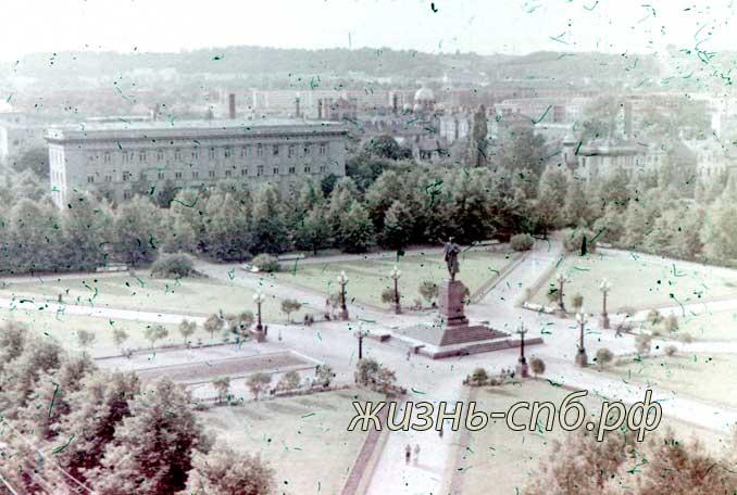 Литовская ССР. г. Вильнюс. Площадь Ленина.