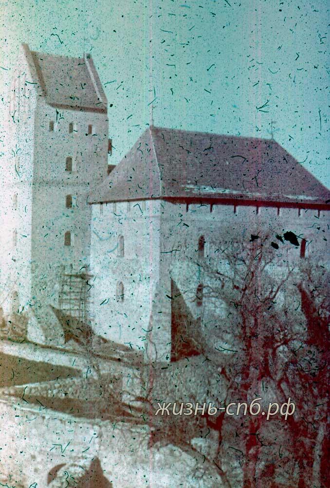 Советская Литва. г. Tракай. Замок, XIV в.