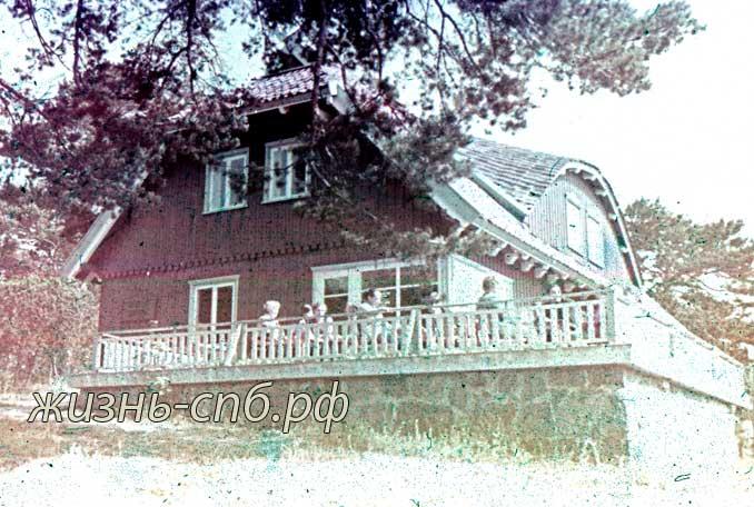 Литовская ССР. г. Нида. Дом, где жил писатель Томас Манн.