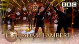 Adam Lambert sings a Queen classic from We Will Rock You - BBC Strictly 2018