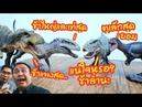 เทียบไชส์ Indominus Rex, Vanilla Ice กับ T - Rex และ Allosaurus W-Dragon - The Toylet
